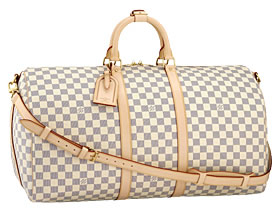 Louis Vuitton Damier Azur Keepall