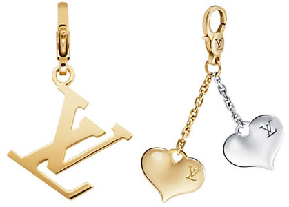 Louis Vuitton Gold Charms