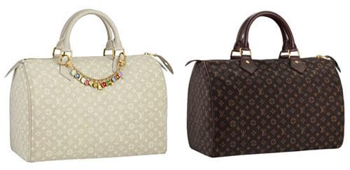 Louis Vuitton Monogram Mini Lin Speedy