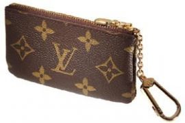 Louis Vuitton Monogram Canvas Key and Change Holder