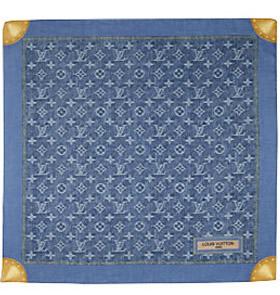 Louis Vuitton Monogram Denim Bandana