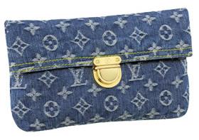 Louis Vuitton Monogram Denim Pouch