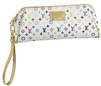 louis vuitton monogram kate clutch