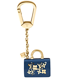 louis vuitton monogram speedy key ring