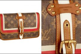 Louis Vuitton Monogram Tisse Rayure Clutch