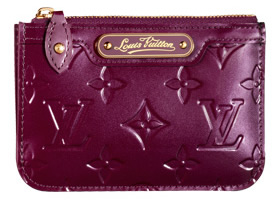 louis vuitton monogram vernis key holder