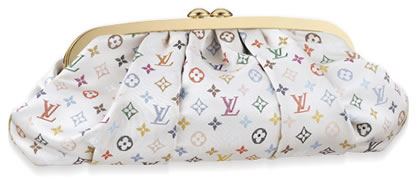 Louis Vuitton Aumoniere Satin Multicolore