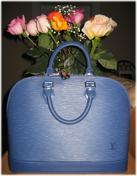 Louis Vuitton Epi Alma 1