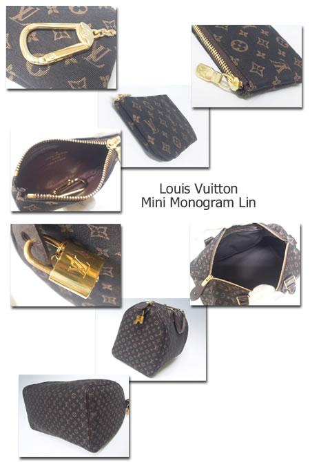 Louis Vuitton Mini Monogram Lin