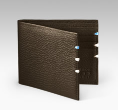 LT Pebbled Leather Billfold Wallet