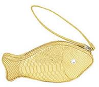 Lulu Guiness Leather Fish
