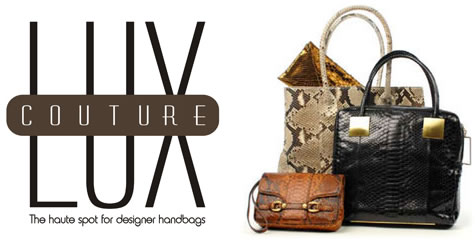 lux couture bags