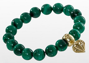 malachite green bracelet