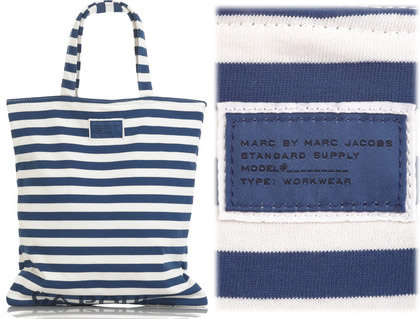 Marc by Marc Jacobs Striped Shopper