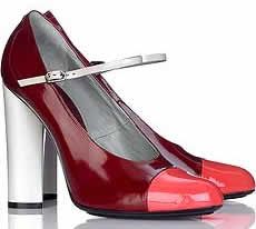 Marc Jacobs Block Color Mary-Janes