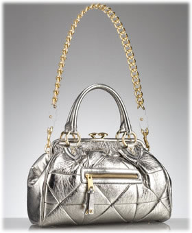 Marc Jacobs Collection Patchwork Metallic Stam