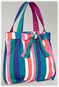 Marc by Marc Jacobs Canvas Bow Tote