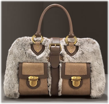 Marc Jacobs Chinchilla Venetia Bag