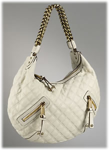 Marc Jacobs Collection Quilted Large Hobo Banana