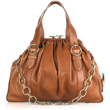 Marc Jacobs Karen Leather Frame Handbag