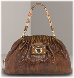 Marc Jacobs Python Chain Satchel