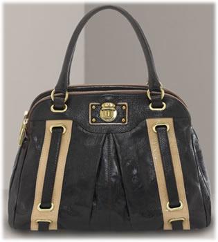 Marc Jacobs Striped Hudson Bag
