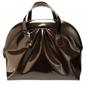 Marni Large Patent Bowling Bag
