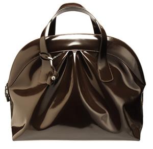 Marni Large Patent Bowling Bag