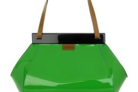 Marni Patent Shoulder Bag