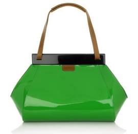 Marni Patent Shoulder Bag
