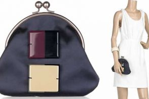 Marni Satin Framed Clutch