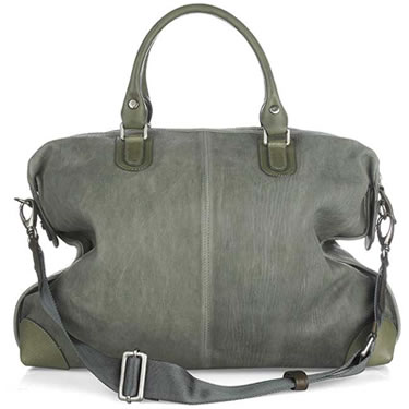 Marni Washed Leather Slouch Bag