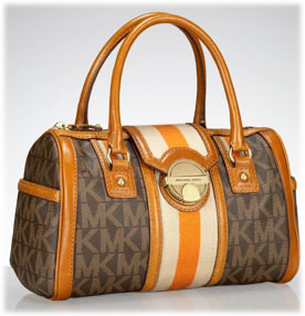 Michael Kors Jet Set Monogram Satchel
