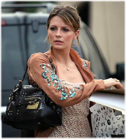 Mischa Barton Louis Vuitton Rivets Handbag