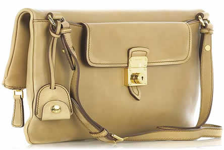 Miu Miu Aged Leather Clutch