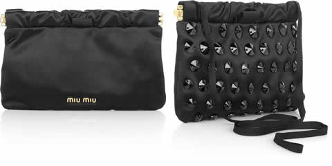 Miu Miu Crystal Embellished Purse