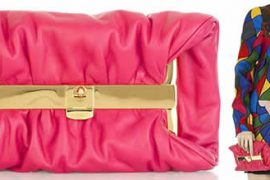 Miu Miu Framed Fold Over Clutch