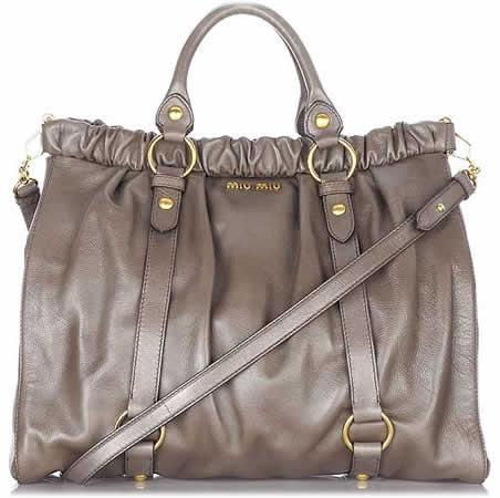 f9fd626fda70 Miu Miu Gathered Leather Bag - PurseBlog