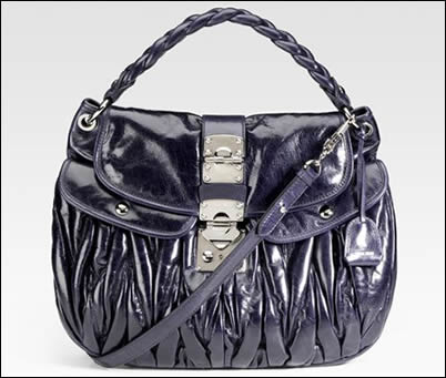 Miu Miu Matellase Luxe Convertible Bag