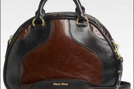 Miu Miu Shine Colour Bowler Bag