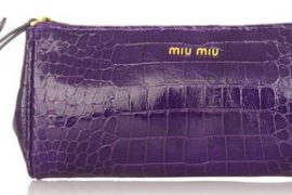 Miu Miu Stamped Clutch