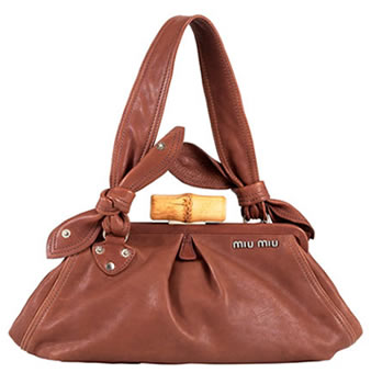 Miu Miu Framed Leather Bag