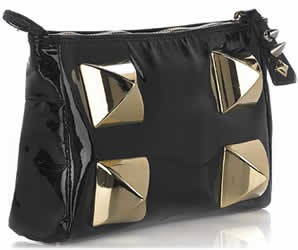 Mulberry for Giles Patent Leather Clutch