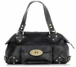 Mulberry Knightsbridge Leather Bag1