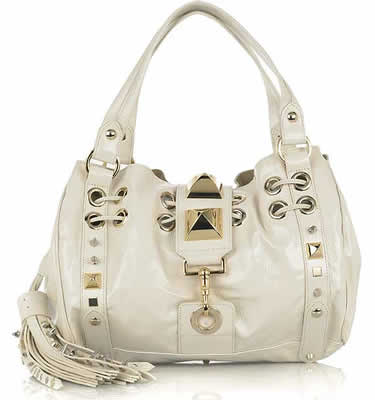 Mulberry Studded Hobo Bag