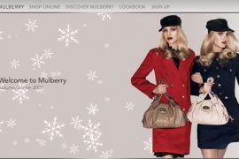 Mulberry Website Makeover