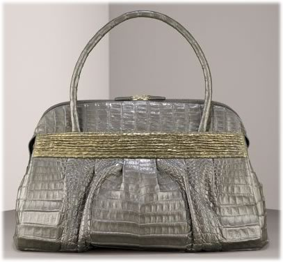 Nancy Gonzalez Crocodile and Python Satchel