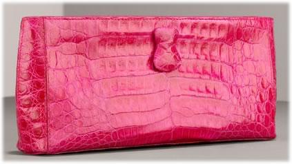 Nancy Gonzalez Crocodile Clutch