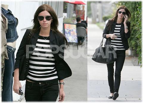 Nicky Hilton Chanel Chain Strap Handbag
