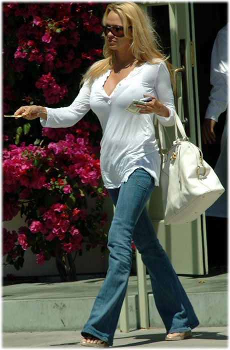 Pamela Anderson Name That Bag